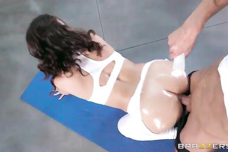 Kimber Woods [HD 1080, All Sex, ANAL, Brunette, Natural Tits, POV, Yoga, Porn 2016]