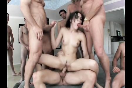 SASHA GREY - GANGBANG - PART -1-1080P