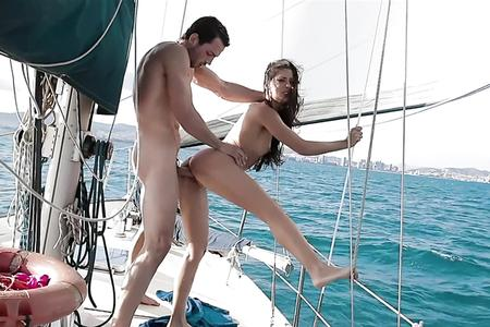 Alexa Tomas, mermaid fucked on a sailboat - Clea Libertine